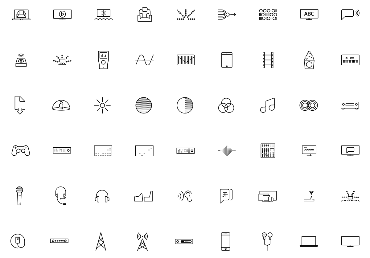 Armchair Dolby Icons